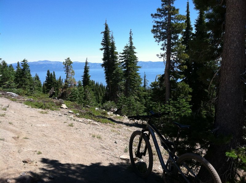 Another view of the Tahoe Basin.
