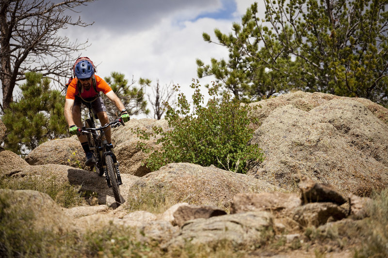 One of the most technical trails at Curt Gowdy is also the high point in the park.