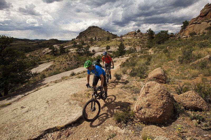 Big slabs of granite are plentiful on Middle Kingdom