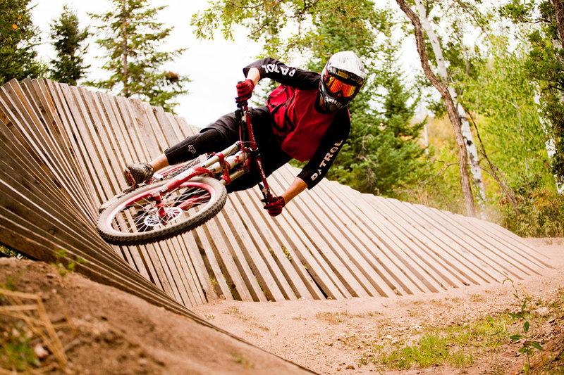 Wall ride on Buckin' Bronc