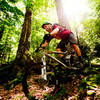 Roots, rocks and plenty of slippery moss to be found in the Cheat Mountain trail system