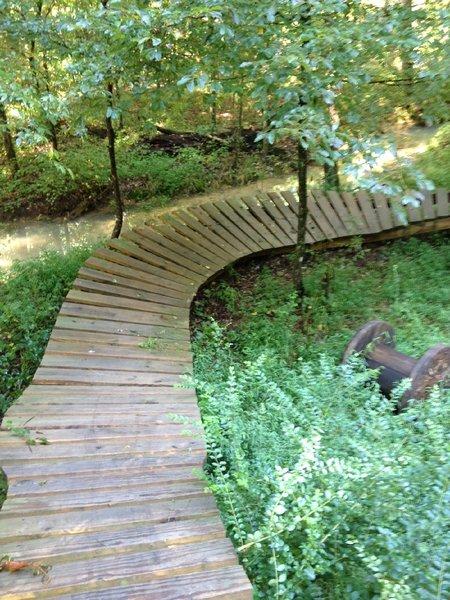 Playground on Log Rhythm Trail