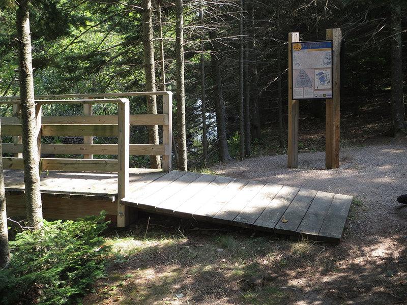 New bridge across Pine River