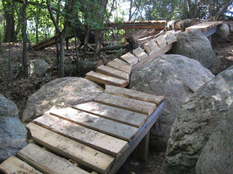 The devil dancer elevated bridge and boulder ride option