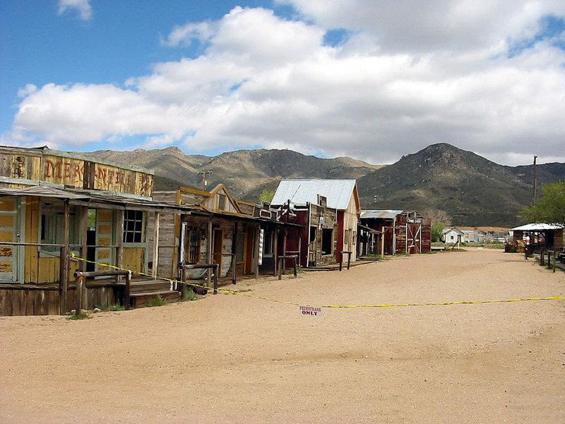 Location of the Wild West Show, The Immortal Gunfighters.