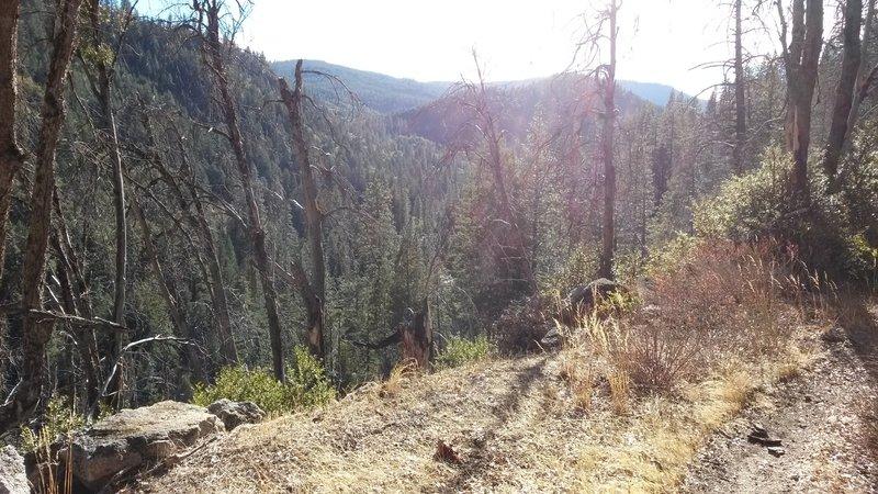 Descent to Kyburz