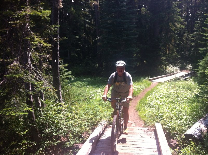 Excellent wooded singletrack