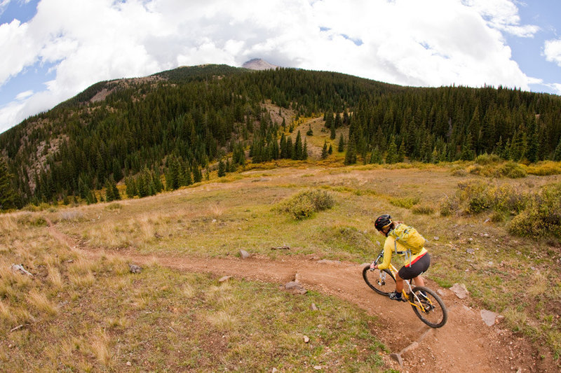 Silver Creek starts with a series of switchbacks