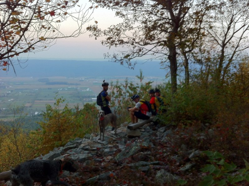 Lookouts don't come much better than this -- Big Valley in all its splendor.