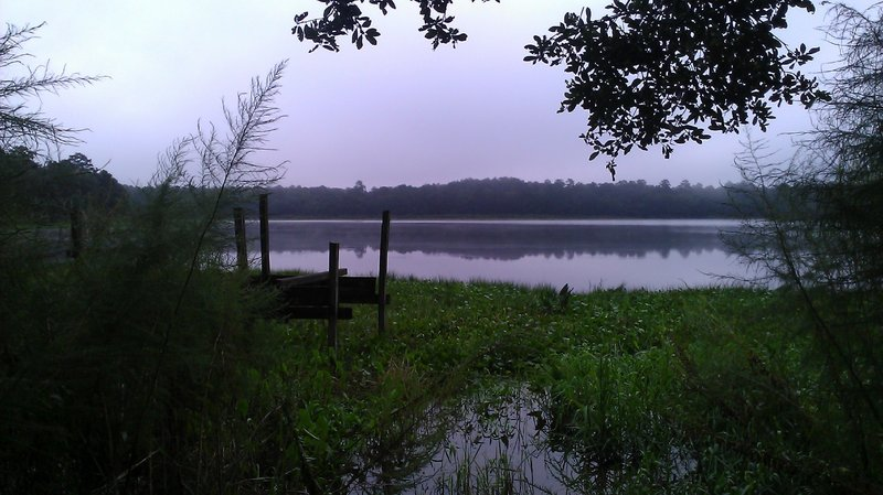 Lake Overstreet on a quiet morning