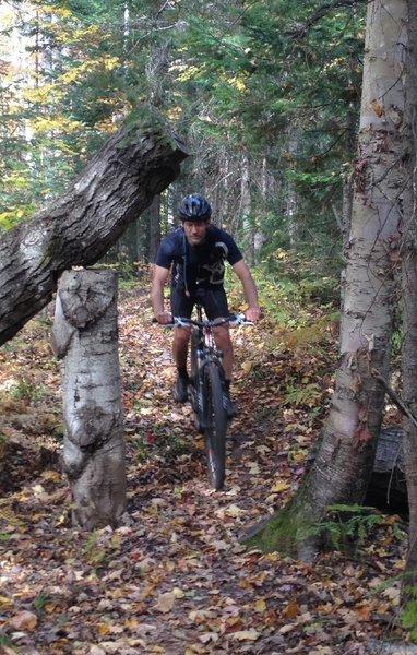 Biker trap...