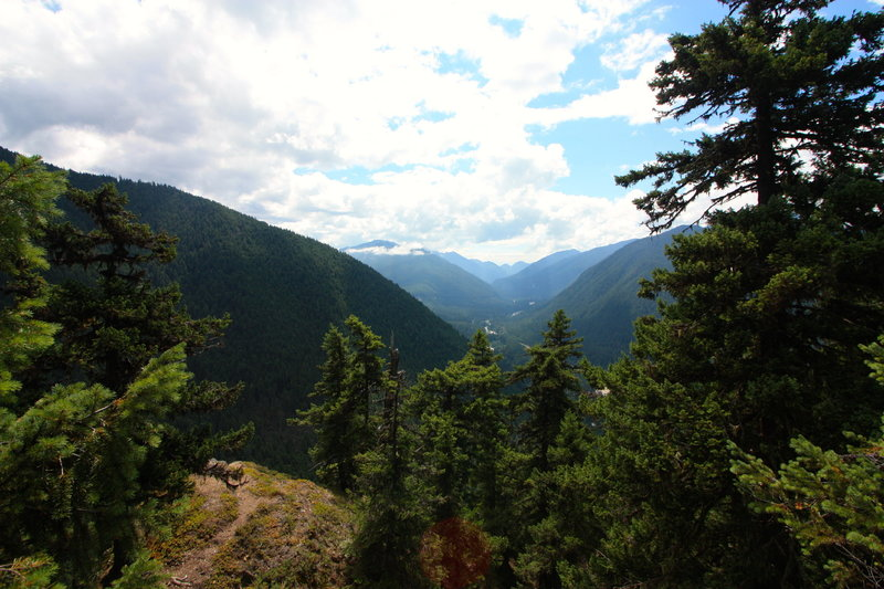 Great valley views from the Little Ranger Peak viewpoint.