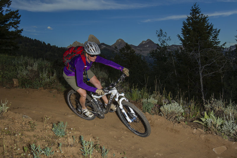 berms on Lightning loop by Mark Fisher
