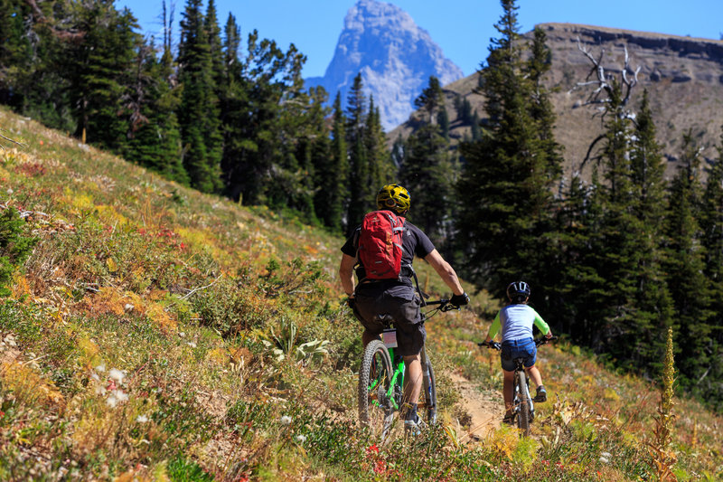Grand Traverse trail photo by Kevin Cass
