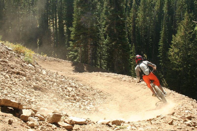 Bullwinkle - DH flow trail