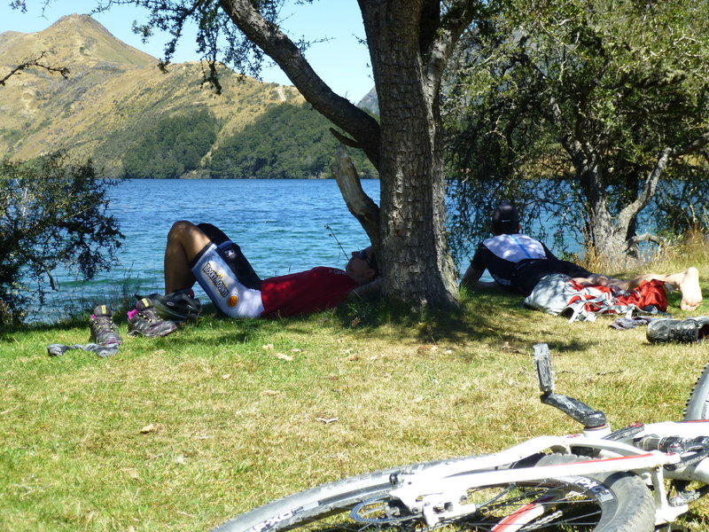 snooze by the lake