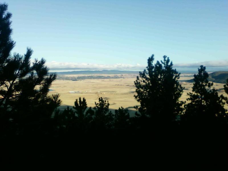 Great view looking east toward South Dakota.