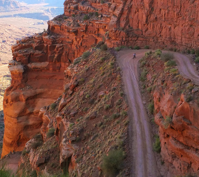 Two of the Shafer switchbacks.