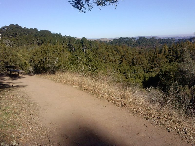 West Ridge vista