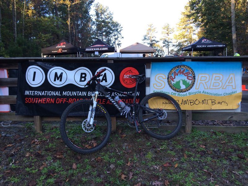 Big Creek Park is a great venue for MTB events.