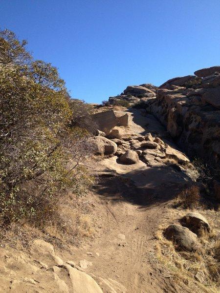 Boulders can be fun.