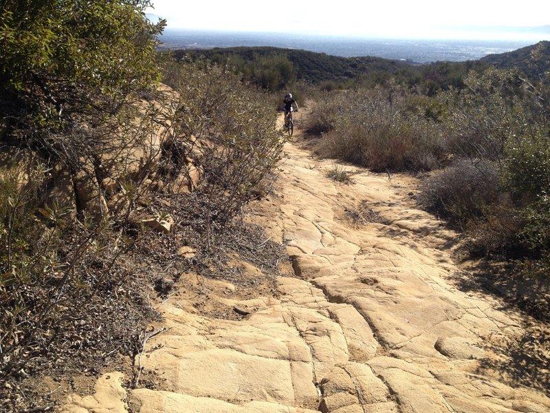 Lots of Granite boulders on this ride