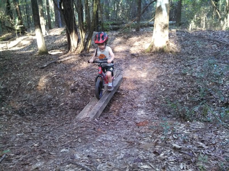 """A small """"bridge"""" on the Mainline provides fun for all ages."""