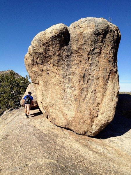 Balanced Rock, up close and personal