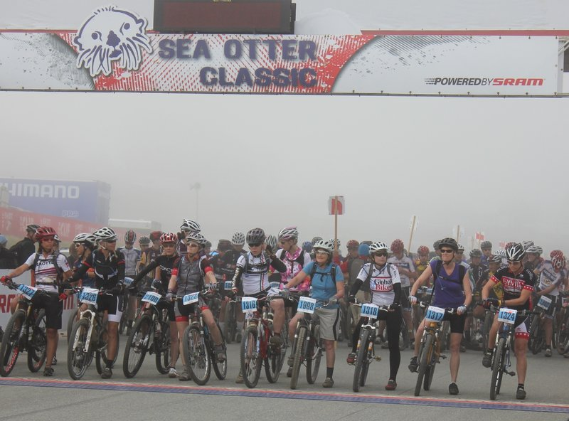 Sea Otter Classic Cross Country Race Start Ladies 2012