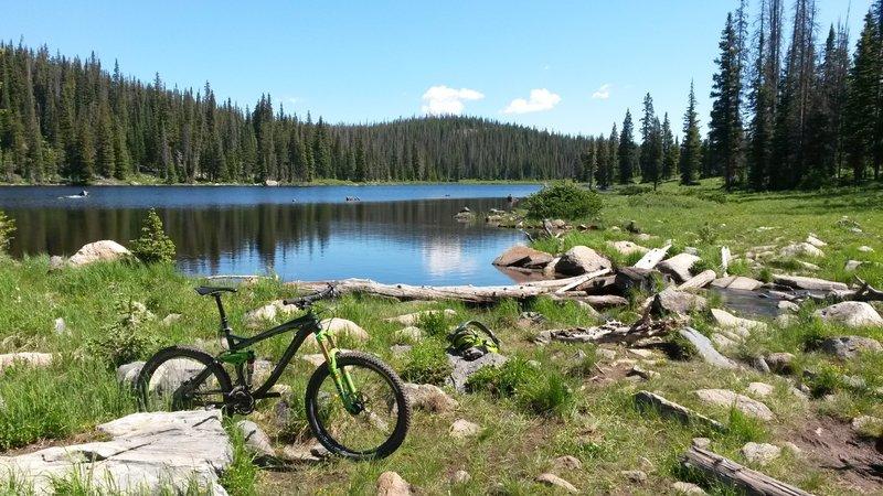 Beautiful Alpine Lakes and stream crossings