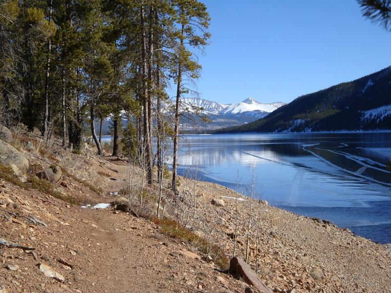 Turquoise Lake Trail in November