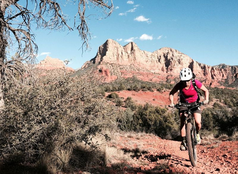 Fun and scenery on the HT Trail