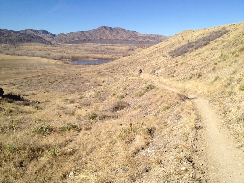 Mt Carbon loop on south side of Bear Creek Lake  Accessed from Hwy
