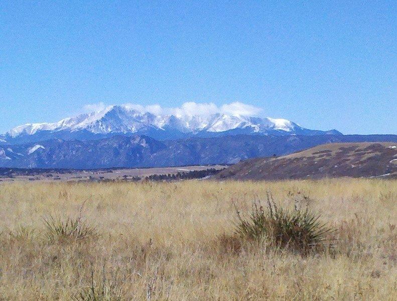 Looking South towards Pikes Peak
