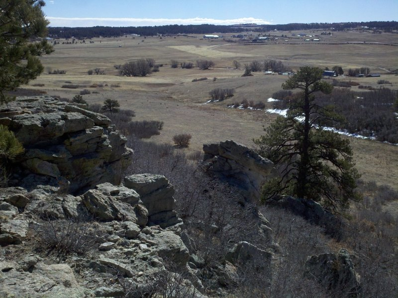 On the Rim of the Palmer Divide Ranch Loop