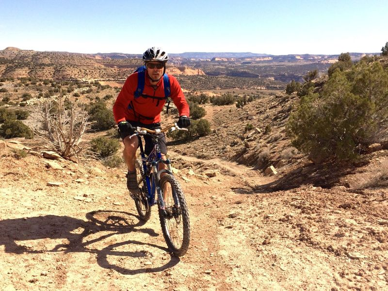 View towards the Rim Trail - Rabbit Valley 8