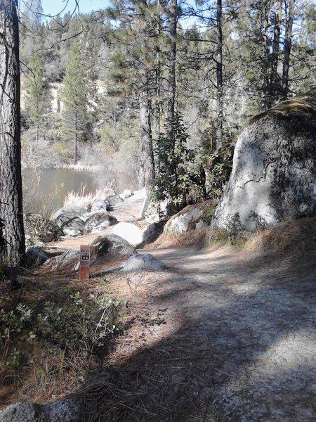 the majestic Hirschman Pond
