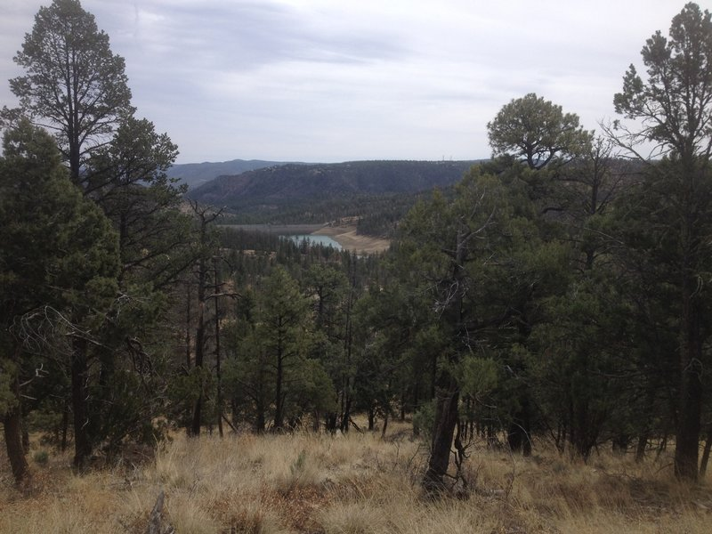 A view of Grindstone Lake.