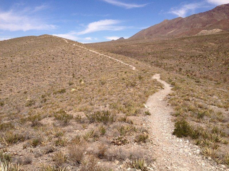 Little Moab Descent