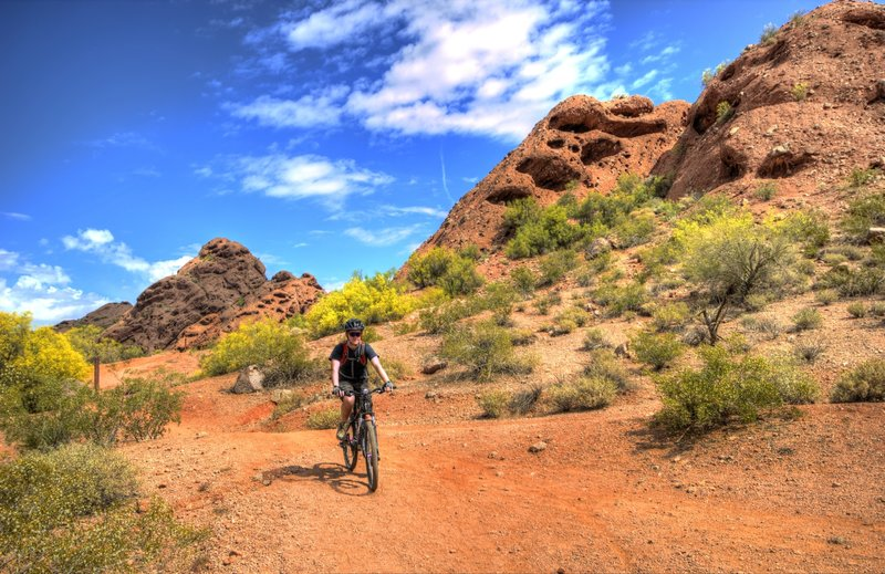 Other-worldly Buttes at Papago