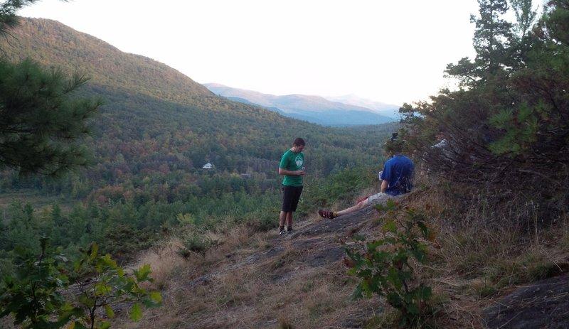 Good Luck view south to Adirondak High Peaks
