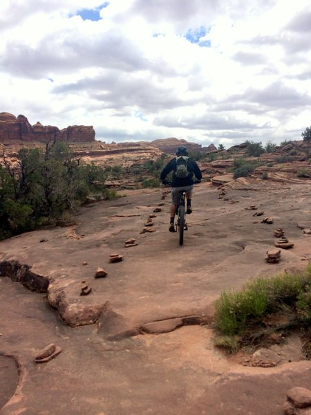 The HyMasa Trail is easy to follow