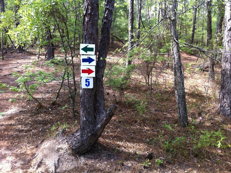 New signage all over the trail now