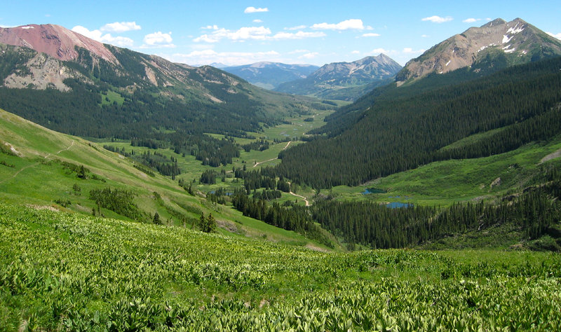 One of the most beautiful valleys through which to ride your mountain bike.