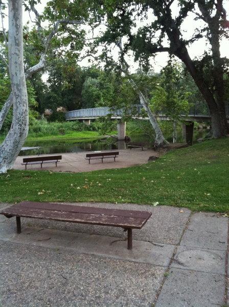 Big Chico Creek at 5 mile recreation area