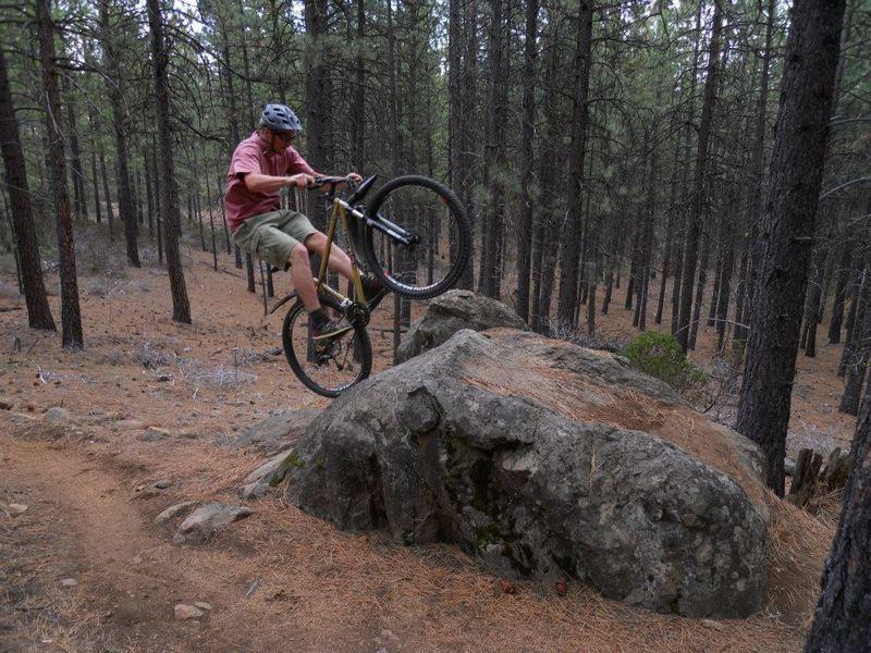 Sick Rock on Ben's-Kents interconnect, KGB Trail 05/15/2014