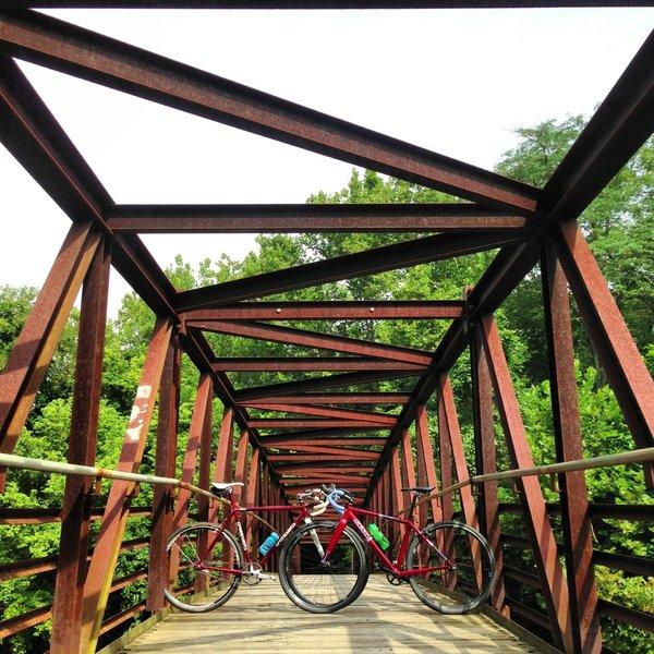 Bridge crossing over the Tulpehocken Creek.