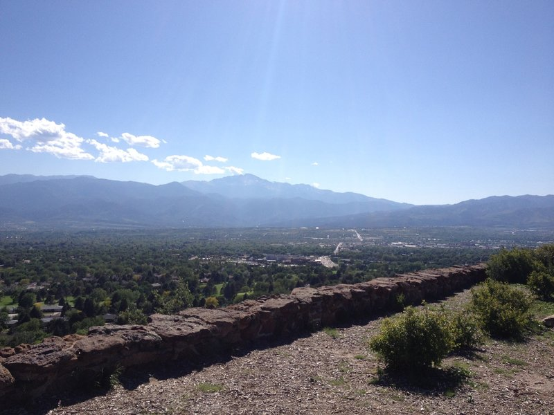 View of Pikes Peak from Overlook