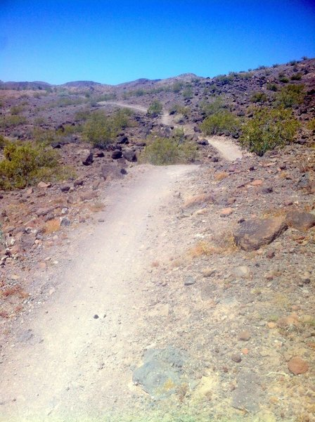 POW Trail view