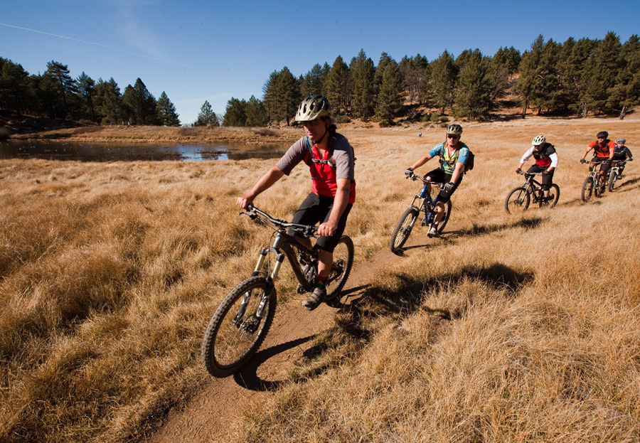 The San Diego Mountain Bike Association crew on the Water ...
